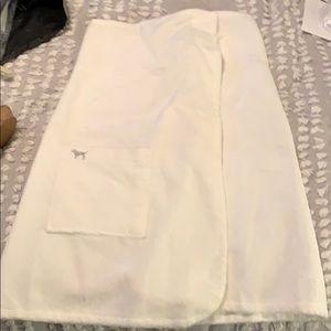 Victoria secret wrap towel xsmall/small